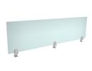 Edge Mount Plexiglass Privacy Panels