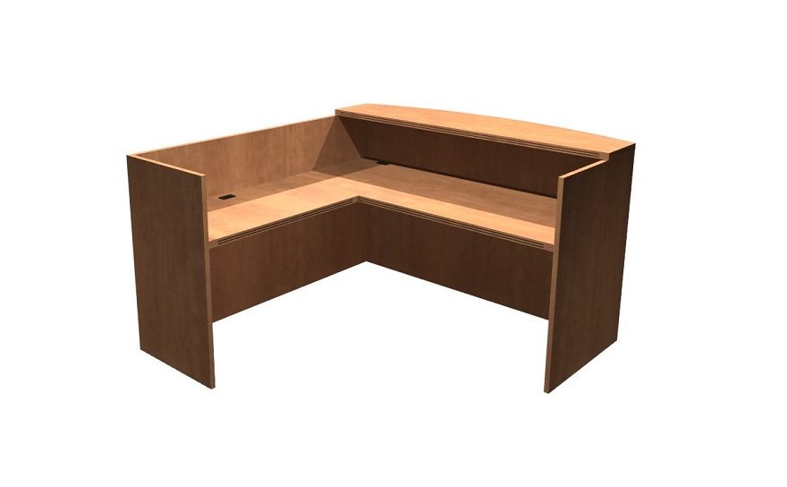 Heartwood manufacturing ltd office furniture 600 gallery desk