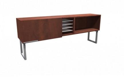 WRK-2872HSD-L-COL (optional plexi collator shelves)