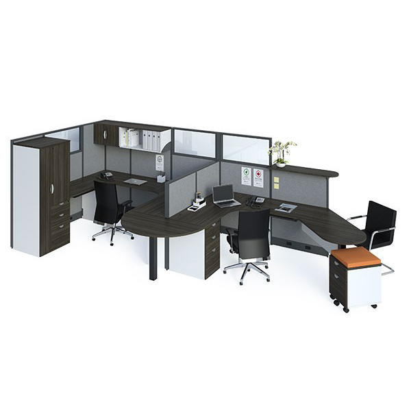 Layout 16 - Dual workstations