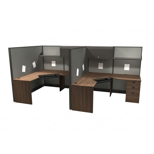 Layout 4 - Linear cubicle