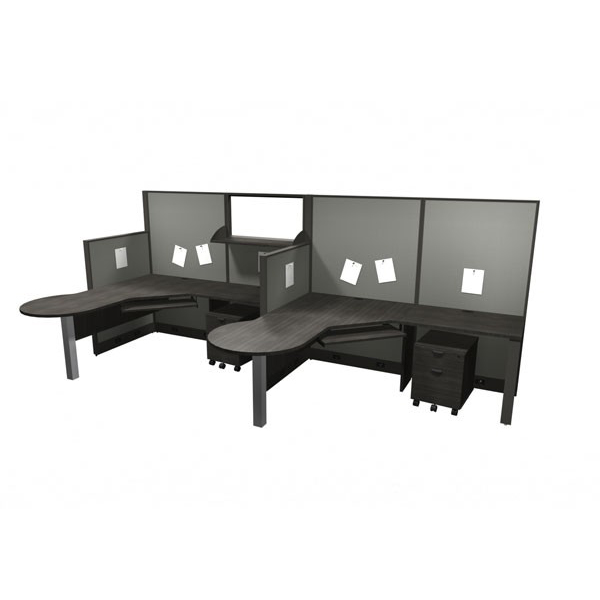 Layout 5 - Linear cubicle