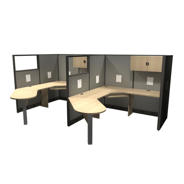 Layout 6 - Linear cubicle