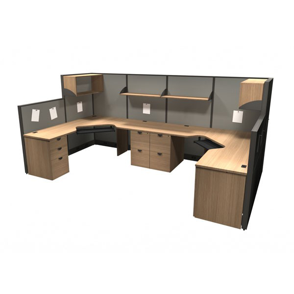 Layout 9 - Shared cubicle